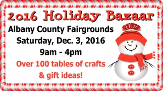 2016 Holiday Bazaar