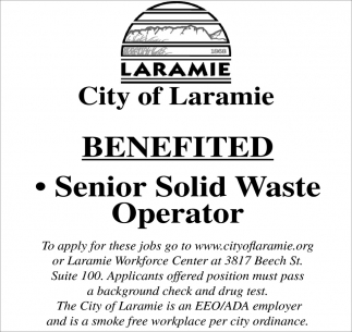 Senior Solid Waste Operator