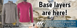 Base Layers are here!