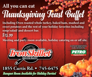 Thanksgiving Feast Buffet