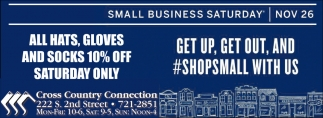 Get up, get out and #shopsmall with us