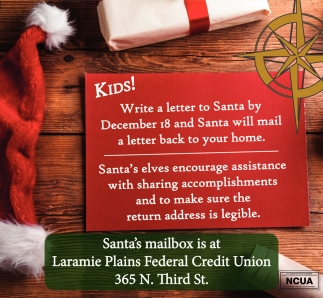 Kids! Write a letter to Santa