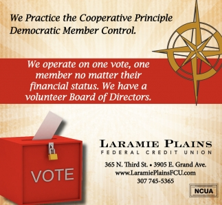We Practice the Cooperative Principle Voluntary and Open Membership