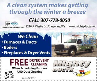 A Clean system makes getting through the winter a breeze