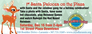 1st Santa Palooza on the Plaza