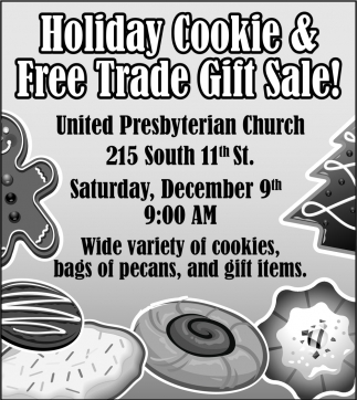 Holiday Cookie & Free Trade Gift Sale!