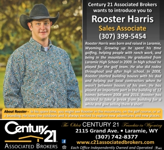 Rooster Harris Sales Associate