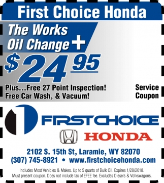 First Choice Honda