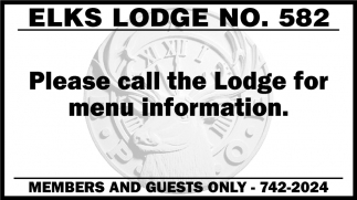 Elks Lodge No. 582