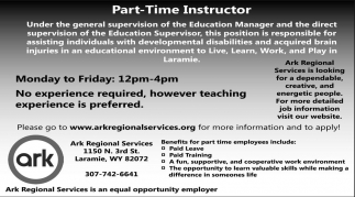 Part-Time Instructor
