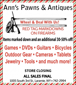 Ann's Pawns and Antiques