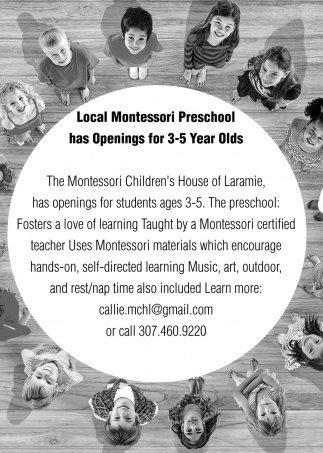 Local Montessori Preschool