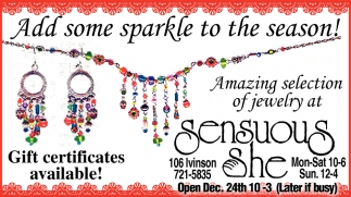 Add Some Sparkle To The Season!