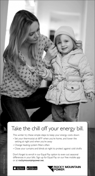Take the chill off your energy bill