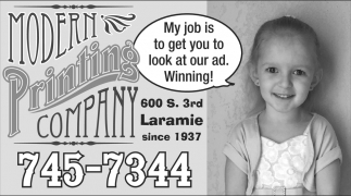 My job is to get you to look at our ad. Winning!