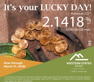 It's your LUCKY DAY!