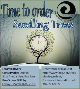 Time to order Seedling Trees