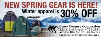 New Spring Gear Is Here!