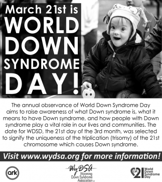 World Down Shyndrome Day