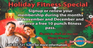Holiday Fitness Special