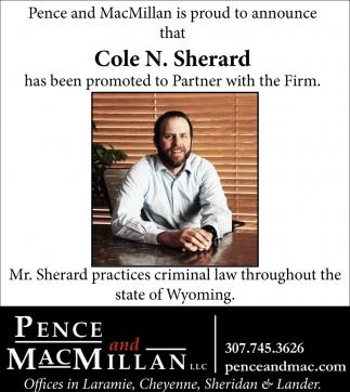 Cole N. Sherard