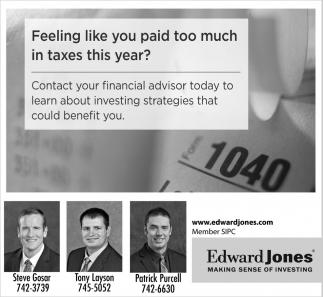 Feeling likeyou paid too much taxes this year?