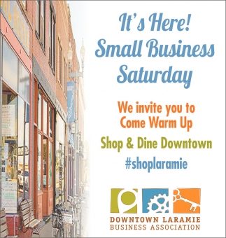 It's Here! Small Business Saturday!