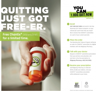 Quitting just got free-er.