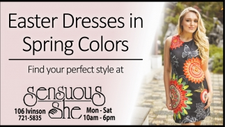 Easter Dresses in Sping Colors