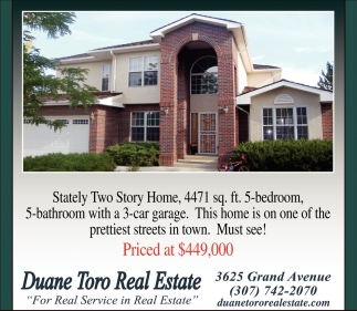 Stately Tow Story Home