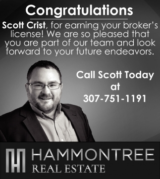 Congratulations Scott Crist