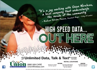 High Speed Data