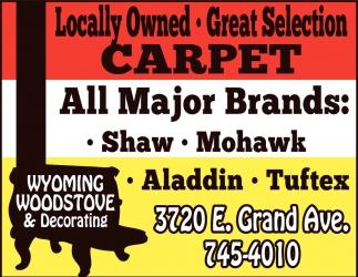 Wyoming Woodstove & Decorating