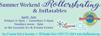 Summer Weekend Rollerskating & Inflatables