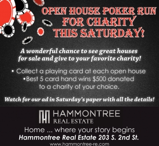 Open House Poker Run