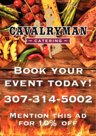 Book Your Event Today! 307-314-5002