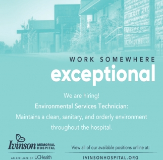 Environmental Services Technician
