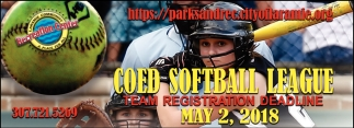Coed Softball League