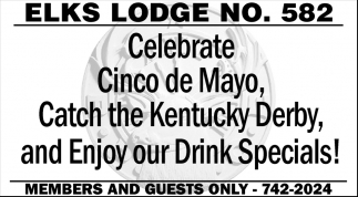 Enjoy Our Drink Specials!