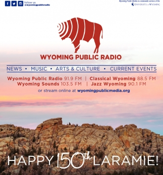 Happy 150th Laramie!