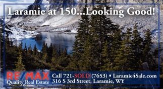 Laramie at 150 Looking Good!