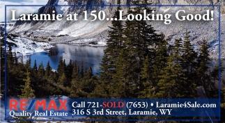 Laramie at 150 Looking Good!