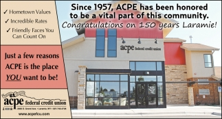 Just a few reasons ACPE is the palce you want to be!