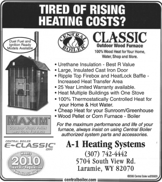 Tired of rising heating costs?