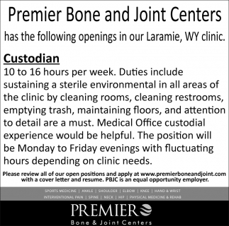 Position Available Custodian
