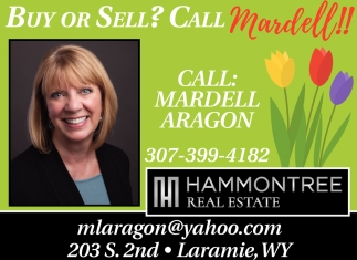 Buy or Sell? Call Mardell!!