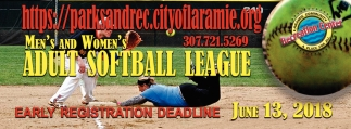 Men's and Women's Adult Softball League