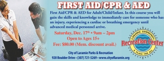 First AID/CPR and AED
