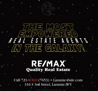 The Most Empowered Real Estate Agents in the Galaxy!