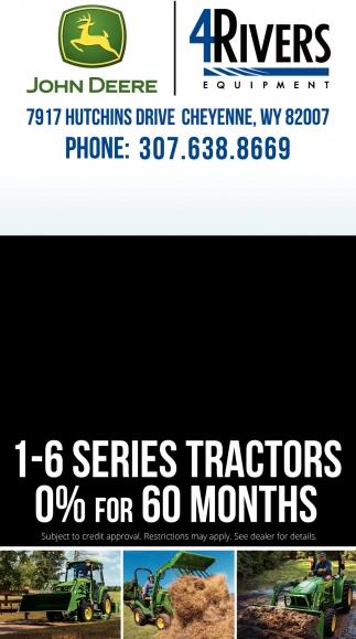 1-6 Series Tractors